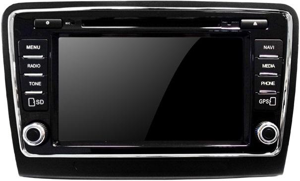 штатная магнитола skoda octavia a5 ans-810a android