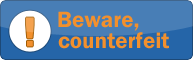 beware counterfeit
